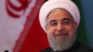 ईरान के राष्ट्रपति रूहानी