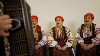 народный хор, Донбасс