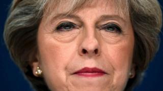 英国首相特雷莎·梅