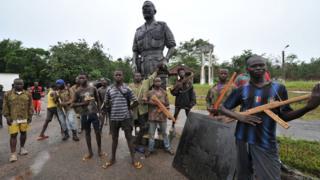Статуя Бокассы
