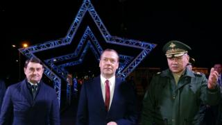 Игорь Левитин, Дмитрий Медведев и Сергей Шойгу