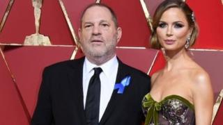 Weinstein and his wife Georgina Chapman