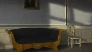 Pintura de Vilhelm Hammershøi