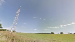 Abercraf television relay mast, Powys