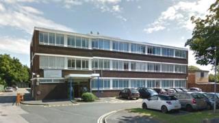 Former Denbighshire council offices on Brighton Road, Rhyl