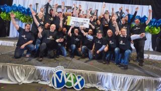 The 31 lottery winners