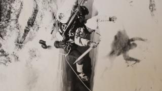 Greenland exploration team member