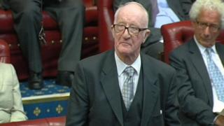 Lord Taylor in the House of Lords