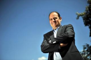 Juan Carlos Villafuerte, empresario venezolano (Foto: Boris Miranda)