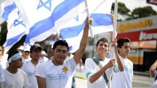 Guatemaltecos a favor de Israel