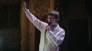 Anthony at the Blackpool Tower Ballroom