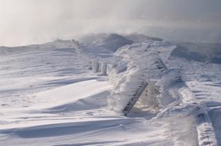 Allan Macdougall: Ice Sculpture on Plynlimon