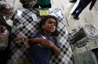 Şam'da çocukk