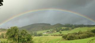 rainbow from Terregles