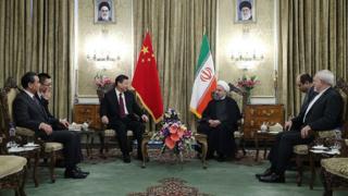 Çin liderinin iran ziyareti