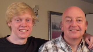 Aaron XXX and his Dad David