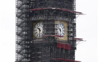 Big Ben being renovated