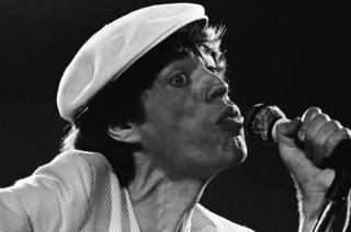 Mick Jagger in 1980