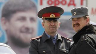 Чечня, портрет Кадырова