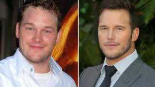 Chris Pratt 10 years ago verses now.