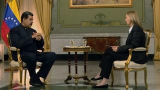 Maduro y Orla Guerin.