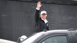 Le chef de la Maison Blanche a estimé que l'ouragan a provoqué des dégâts sans précédent aux Etats-Unis