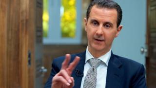 巴沙爾·阿薩德指責西方製造了在敘利亞城鎮漢謝洪發生的事件