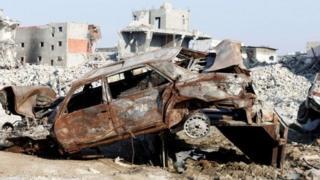 تخریب و جنگ در شرق عربستان