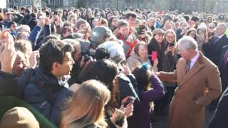 Prince Charles in Durham