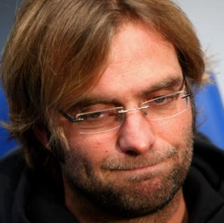 Picture of Jürgen Klopp at a press conference