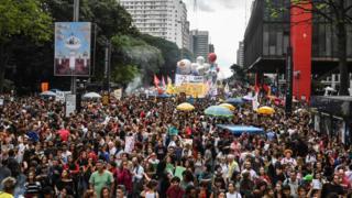 Protesto nesta quarta em São Paulo