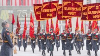 парад в Петербурге
