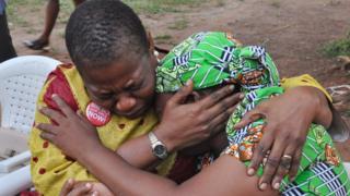 Мать похищенной девушки