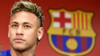 Neymar joined Barcelona from Santos after winning the Golden Boot award at the 2013 Confederations Cup