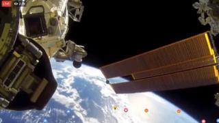 Video de Facebook Live desde el espacio