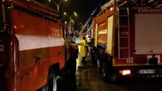 пожар в Батуми
