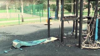 Arson attack at South Park