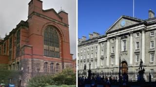 University of Birmingham and Trinity College Dublin
