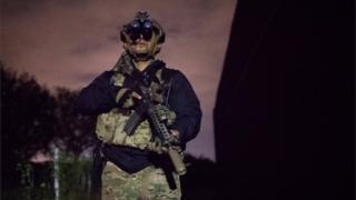 Un agente fronterizo en Texas