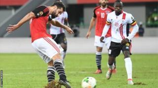 Abdallah El Said a conduit l'Egypte au deuxième tour, avec un but obtenu dans les arrêts de jeu.