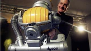 Dyson with vacuum