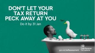 HMRC tax advert