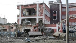 Sahafi Hotel in Mogadishu