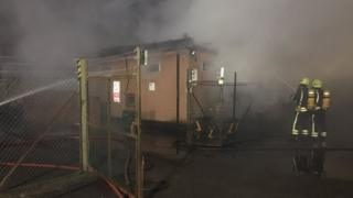 Fire at Avenue Primary School in Warminster