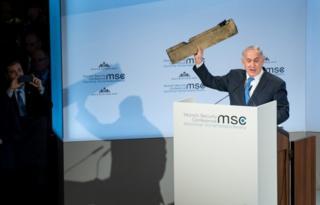 آقای نتانیاهو گفته اگر لازم شود اسرائیل نه تنها علیه متحدان ایران که علیه خود این کشور هم اقدام خواهد کرد