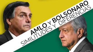 Diferencias y similitudes entre AMLO y Bolsonaro