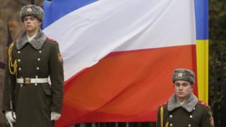 Почетный караул во время визита президента Дуды в Украину, 2015 год