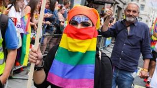 Imaan LGBTQI Pride participant