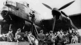 RAF Elsham Wolds bomber base and crew remembered