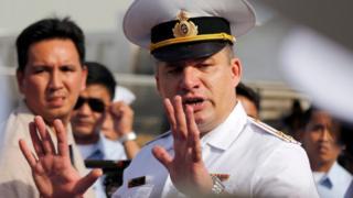 俄羅斯海軍太平洋艦隊的副司令米哈伊洛夫